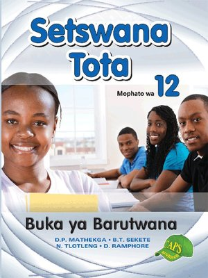 cover image of Setswana Tota Grade 12 Learners Book