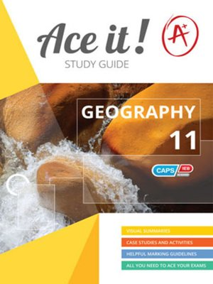 cover image of Ace It! Geography Grade 11