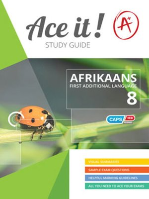 cover image of Ace It! Afrikaans Fal Graad 8