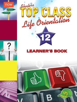 cover image of Top Class Liforientation Grade 12 Learner's Book