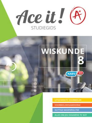 cover image of Ace It! Wiskunde Graad 8