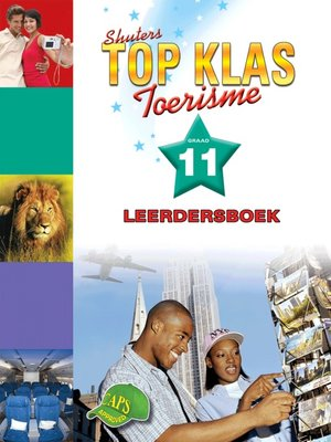 cover image of Top Klas Toerismgraad 11 Leerdersboek