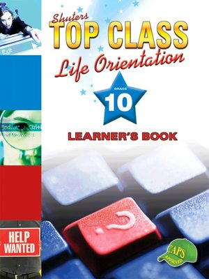 cover image of Top Class Liforientation Grade 10 Learner's Book