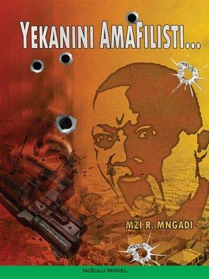cover image of Yekanini Amafilisti