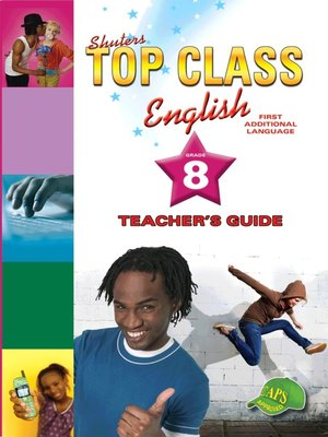 cover image of Top Class English Grade 8 Teacher's Guide