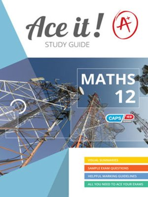 cover image of Ace It! Mathematics Grade 12