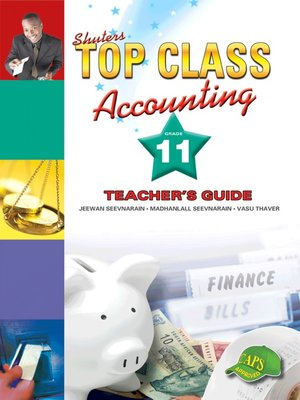 cover image of Top Class Accounting Grade 11 Teacher's Guide