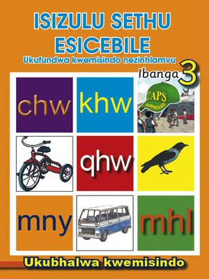 cover image of Isizulu Sethu Phonics Grad 3 Workbook