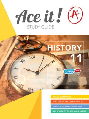 cover image of Ace It! History Grade 11