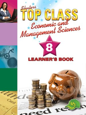 cover image of Top Class Ems Grade 8 Learner's Book
