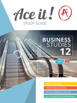 cover image of Ace It! Business Studies Grade 12