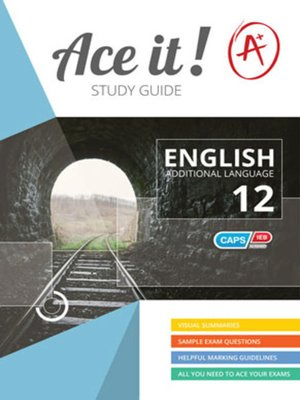 cover image of Ace It! English Fal Grade 12