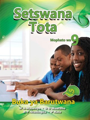 cover image of Setswana Tota Grade 9 Learner's Book