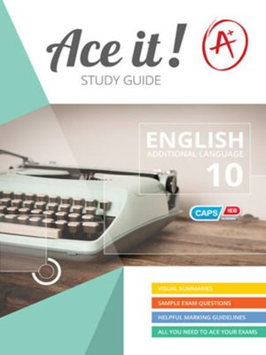 cover image of Ace It! English Fal Grade 10