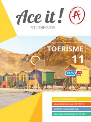 cover image of Ace It! Toerisme Graad 11
