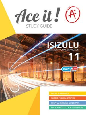 cover image of Ace It! Isizulu Fal Grade 11