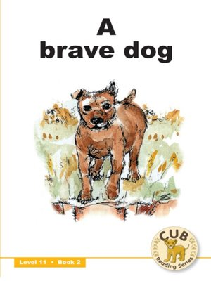 cover image of Cub Reading Scheme Level 11, Book 2: A Brave Dog
