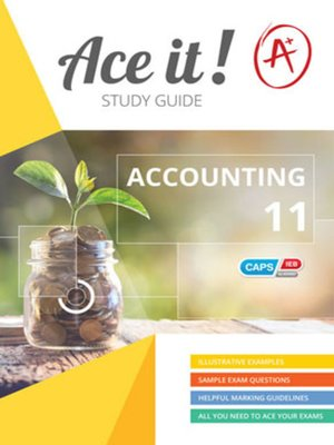 cover image of Ace It! Accounting Grade 11