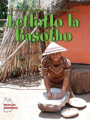 cover image of Letlotlo La Basotho