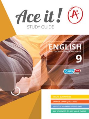 cover image of Ace It! English Fal Grade 9