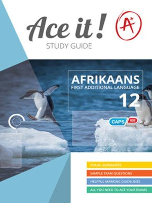 cover image of Ace It! Afrikaans Fal Grade 12