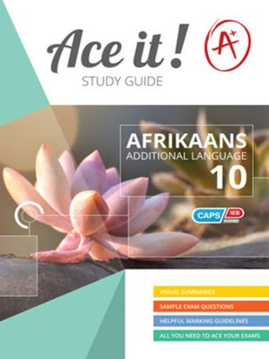 cover image of Ace It! Afrikaans Fal Graad 10