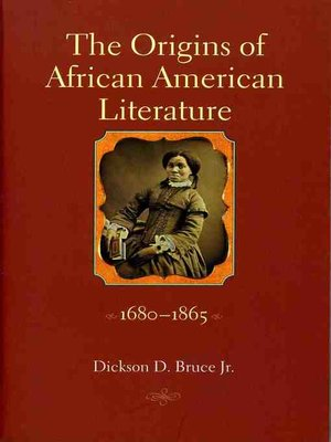 cover image of The Origins of African American Literature, 1680-1865