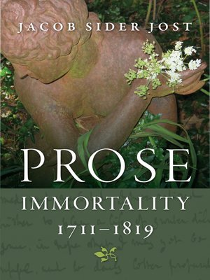 cover image of Prose Immortality, 1711-1819
