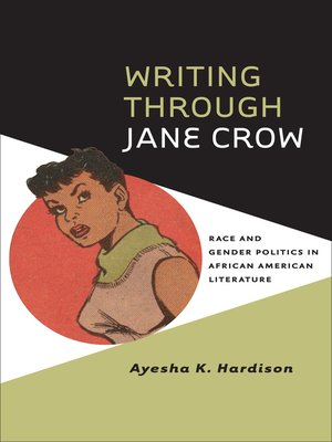 cover image of Writing through Jane Crow