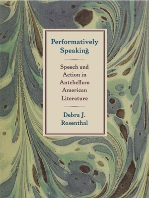 cover image of Performatively Speaking