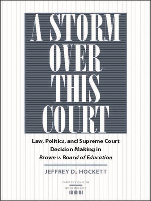 cover image of A Storm over This Court