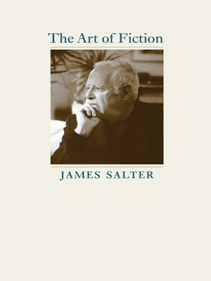 cover image of The Art of Fiction