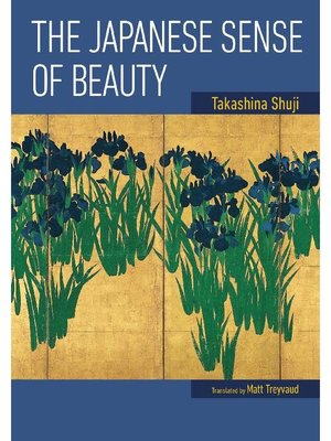 cover image of The Japanese Sense of Beauty