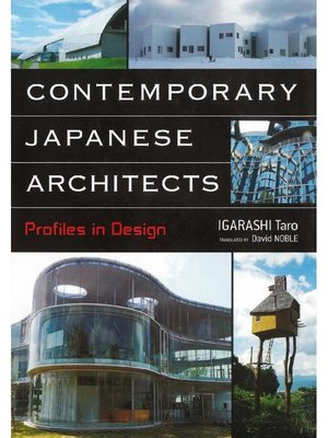 cover image of Contemporary Japanese Architects