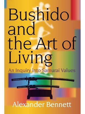 cover image of Bushido and the Art of Living
