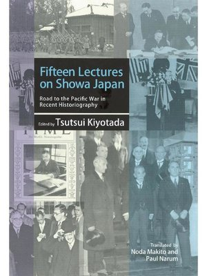 cover image of Fifteen Lectures on Showa Japan