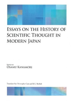 cover image of Essays on the History of Scientific Thought in Modern Japan