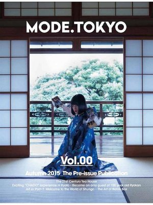 cover image of MODE.TOKYO (French Edition)