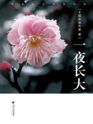 cover image of 一夜长大