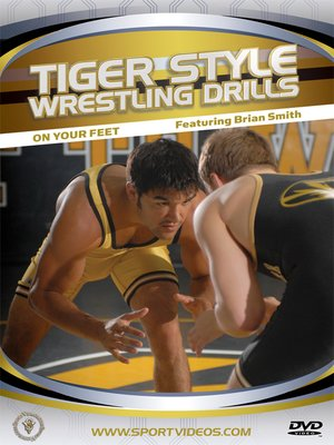cover image of Tiger Style Wrestling Drills: On Your Feet