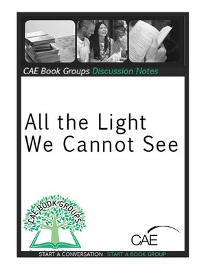 cover image of Discussion Notes: All the Light We Cannot See