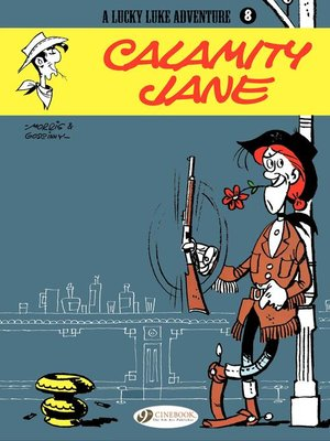 cover image of Lucky Luke--Volume 8--Calamity Jane