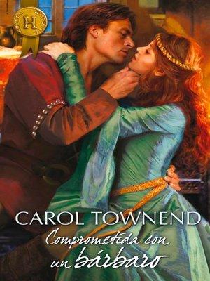 cover image of Comprometida con un bárbaro
