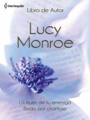 cover image of La mujer de su enemigo--Boda por chantaje
