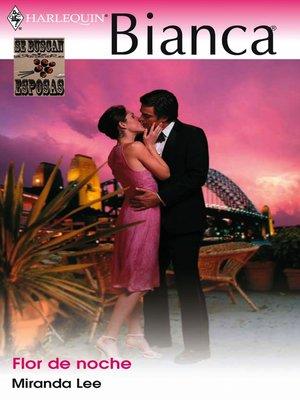 cover image of Flor de noche