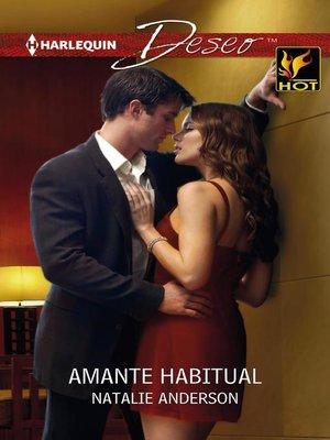 cover image of Amante habitual