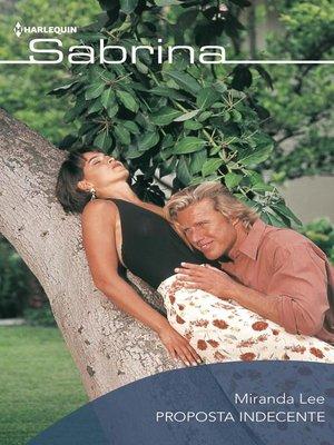 cover image of Proposta indecente
