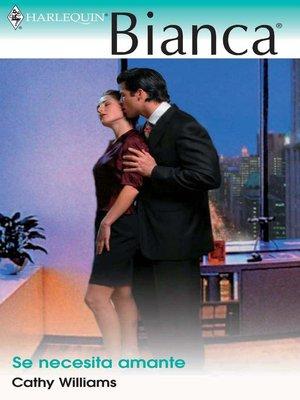 cover image of Se necesita amante