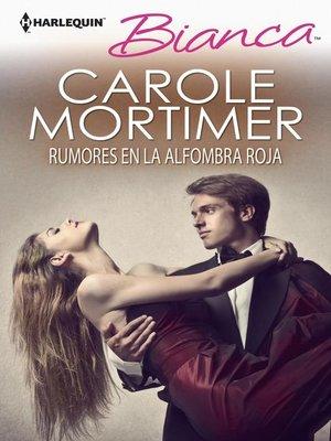 cover image of Rumores en la alfombra roja