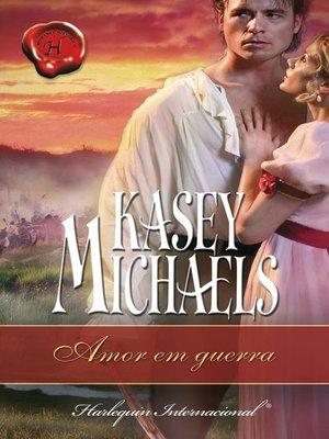 cover image of Amor em guerra